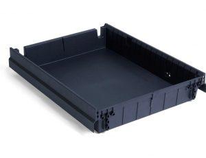 szuflada tworzywowa do kontenera biurowego
